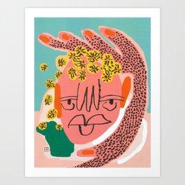Tansy (Amber Vittoria x Teen Vogue) Art Print
