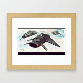 """""""Intimidation"""" Framed Art Print"""