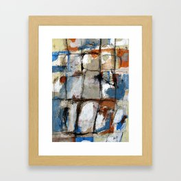 Morning After Blues Framed Art Print