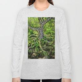 Craggy Pinnacle Trail Tree Long Sleeve T-shirt