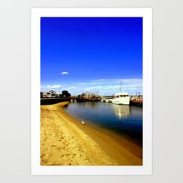 Lakes Entrance Art Print