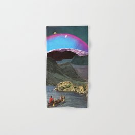 Canoes, Mountains, Planets Hand & Bath Towel