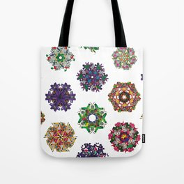 Swirls 0-9 Tote Bag