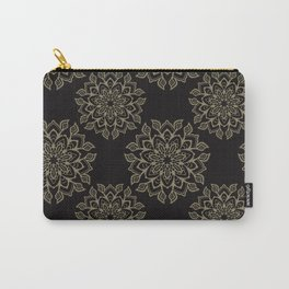 Boho Flourish Ornamental Arabesque Carry-All Pouch