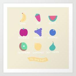 Fruits of the Spirit Art Print