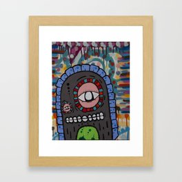 Couchmonsta Framed Art Print