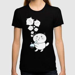 Smoke Cat not War T-shirt