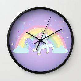 be a unicorn, forever ... Wall Clock