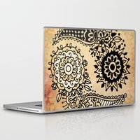 yin yang Laptop & iPad Skins featuring Yin Yang by Jenndalyn