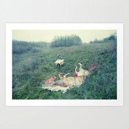 Giant Horse Art Print