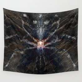Screaming Reality Wall Tapestry