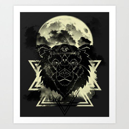Dream Bear Art Print