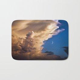 Clouds, Birds, Moon, Venus Bath Mat