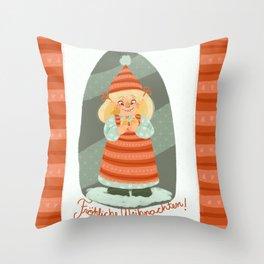 Christmas!!! Throw Pillow