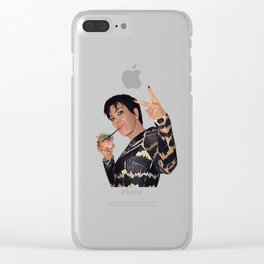 KRIS JENNER Clear iPhone Case