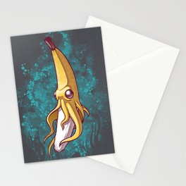 Banana Squid!!! Stationery Cards