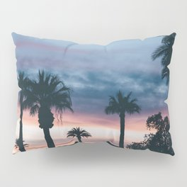 Palm Tree Sky Sunset Pillow Sham