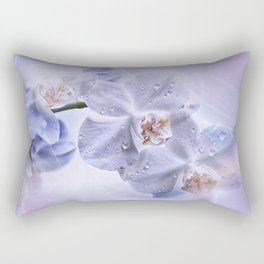 Weiße Orchideen Rectangular Pillow
