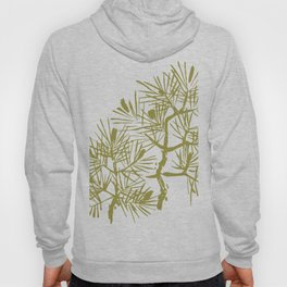Pinetree with pinecones, spruce, ornamental Hoody