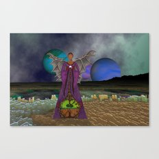 Gaze into the crystal ball and find another future Canvas Print