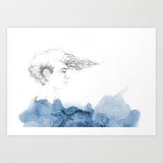 His seacret Art Print