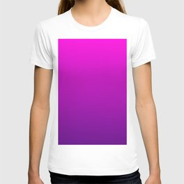 Pink - Purple Ombre Gradient T-shirt