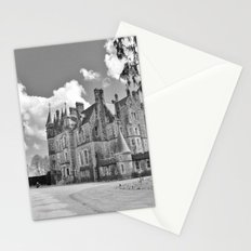 Castle B&W Stationery Cards