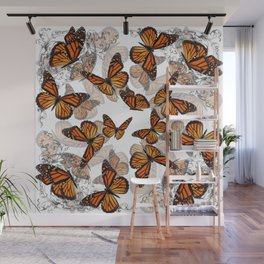 Monarch Migration Wall Mural