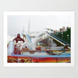 Big Monkey Art Print