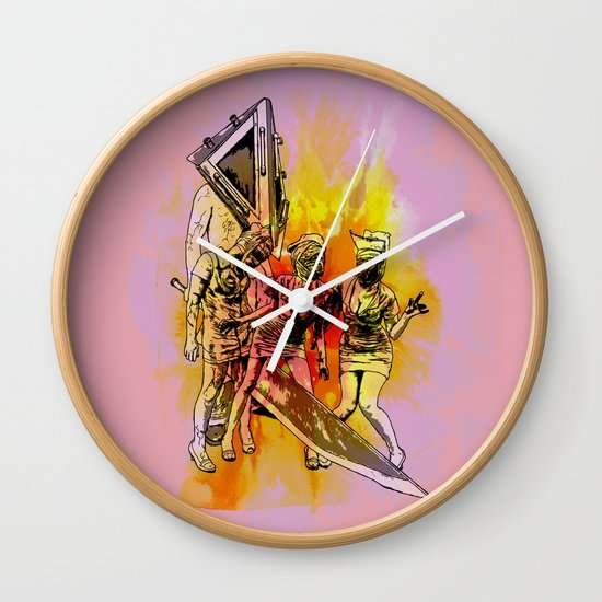 Silent Thrill Wall Clock