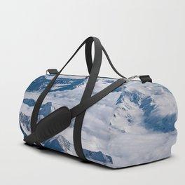 Aerial Glacier Four - Alaska Duffle Bag