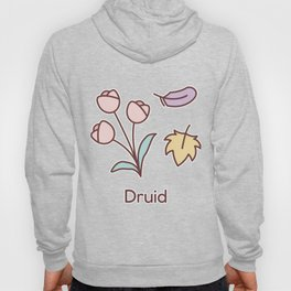 Cute Dungeons and Dragons Druid class Hoody