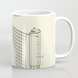 Combined case and post for lawn-tennis nets-1908 Coffee Mug