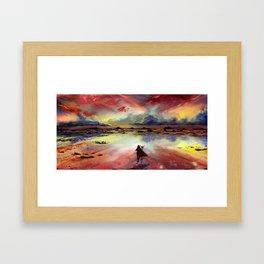 Horizon Framed Art Print