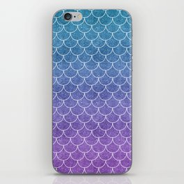 Mermaid Scales in Cotton Candy iPhone Skin