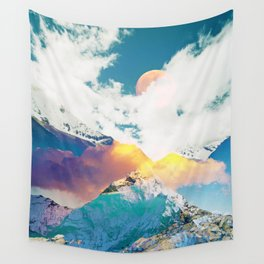 Dreaming Mountains Wall Tapestry