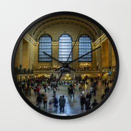 The Grand Central Terminal in NYC Wall Clock
