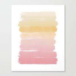 Blush Sunset Canvas Print