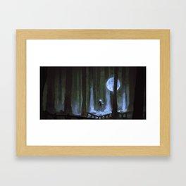 Moonforest Framed Art Print