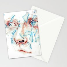 Shattered emotions Stationery Cards