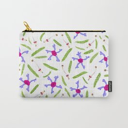 Leaves and flowers pattern (25) Carry-All Pouch