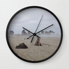 Bandon Beach Bird Wall Clock