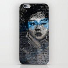 Portrait of A Sick Feeling iPhone & iPod Skin