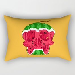 Watermelon skull Rectangular Pillow