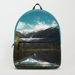 (Franz Josef Glacier) Where the snow melts Backpack