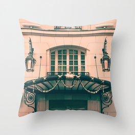 Paris luxury facades Throw Pillow
