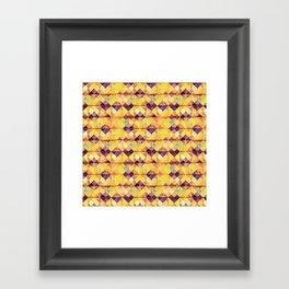 Pretty tiles Framed Art Print