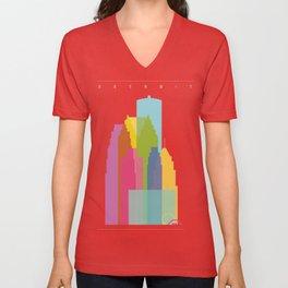 Shapes of Detroit Unisex V-Neck