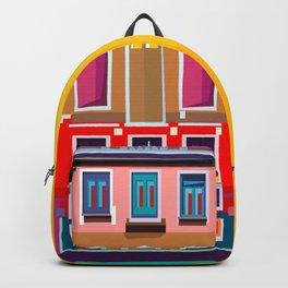 Manarola House, Cinque Terre, Italy Backpack