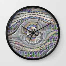 Las palabras Wall Clock